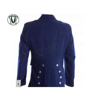 White Prince Charlie Kilt Jacket
