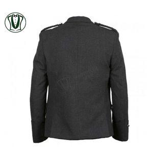 Scottish Argyle Tweed kilt Jacket with Vest