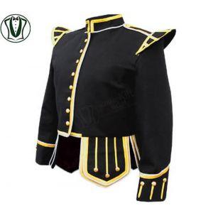 100% Wool Blend Military Piper Drummer Kilt Doublet