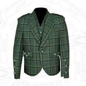 Lovat Green Kilt Jacket