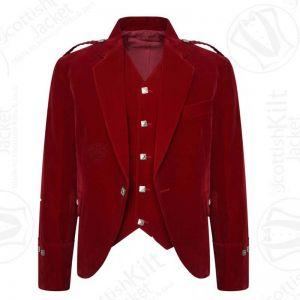 Scottish Argyll kilt jacket