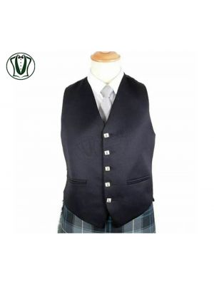 Argyle Kilt Jacket & Waistcoat 100% WOOL Scottish Argyle Jacket