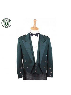 Bottle Green Prince Charlie Jacket