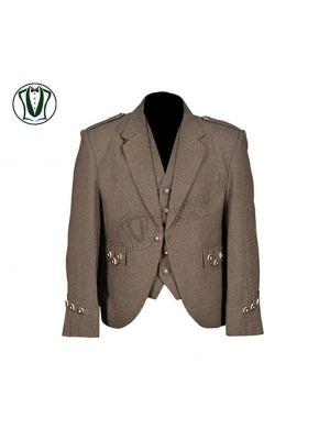 Brown Kilt Tweed Jacket